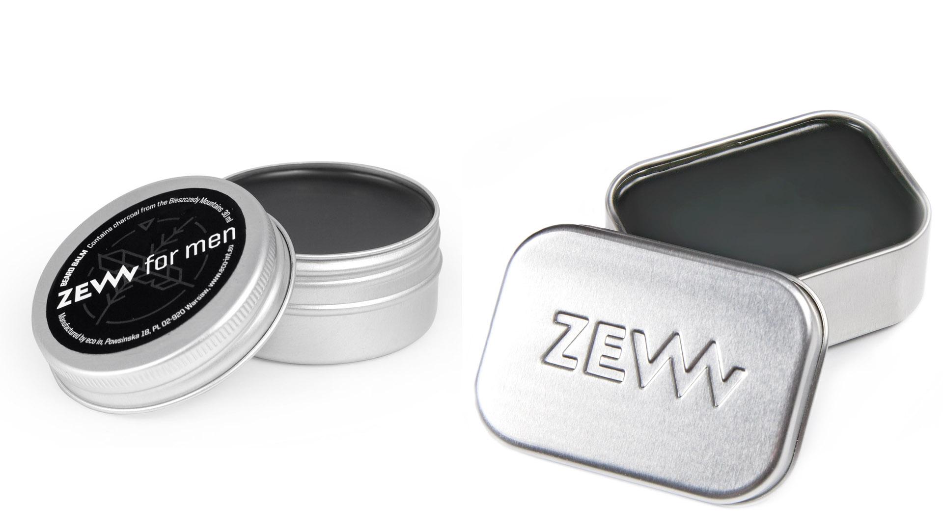 ZEW for men Beard Balm - balzám na bradu s dřevěným uhlím
