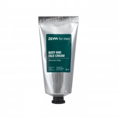 ZEW for men Face and Body Cream - krém na obličej a tělo s houbou chaga, 80 ml