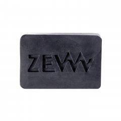 ZEW for men Body and Face soap - mydlo na telo a tvár s dreveným uhlím, 85 ml + vrecko M