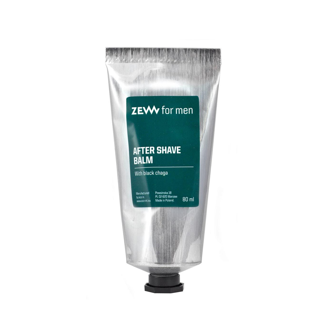 ZEW for men After Shave Balm - balzám po holení s hubou chaga, 80 ml