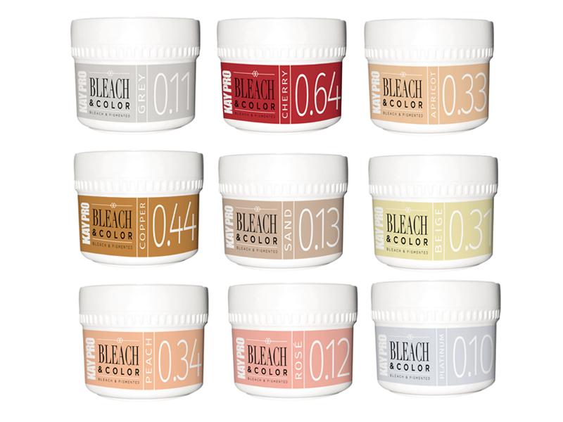 KAYPRO Bleach and Color - pasta pro odbarvení a zabarvení v jednom kroku, 70 g