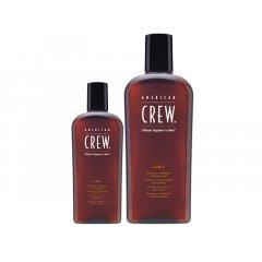 American Crew CLASSIC 3-in-1 - šampon, kondicionér a sprchový gel v jednom