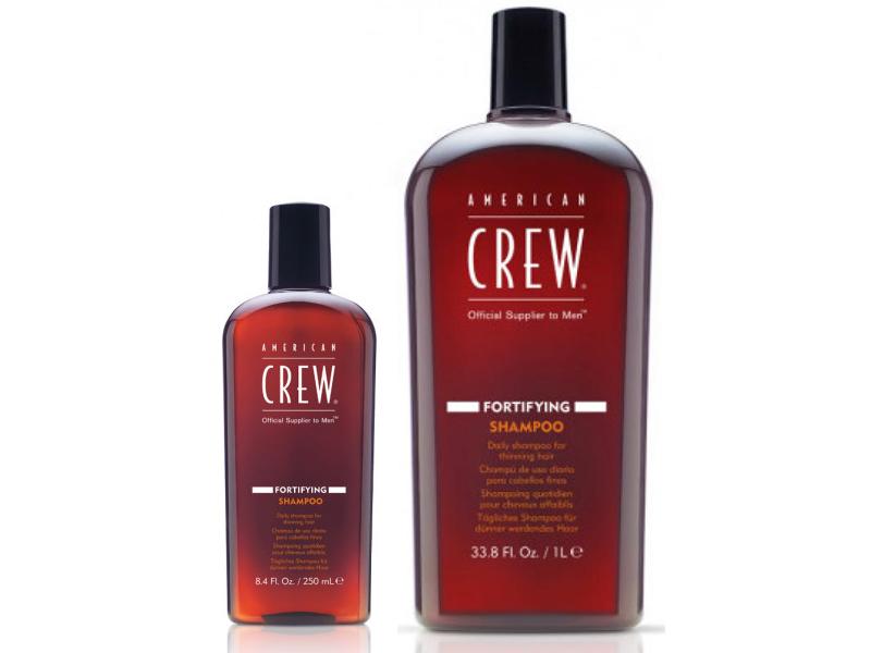 American Crew Fortifying Shampoo - posilňujúci šampón na každodenné použitie