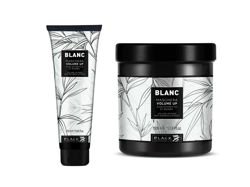 Black Blanc Volume Up Maschera - maska pre objem vlasov