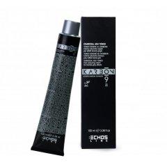 Echosline Karbon 9 - profesionální barvy na vlasy bez PPD s aktivním uhlím, 100 ml
