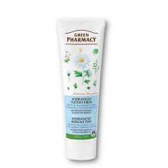Green Pharmacy - hydratačný krém na tvár s jojobovým olejom a extraktom z aloe, 100 ml