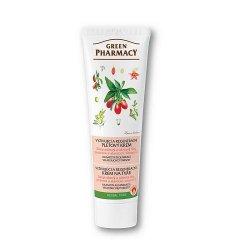 Green Pharmacy - vyživujúci a regeneračný krém na tvár s rakytníkovým a olivovým olejom, 100 ml