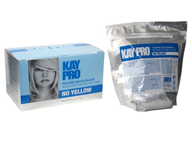 KAYPRO Polvere Decolorante Bleaching Powder NO Yelllow - bezprašný melírovací prášek proti žlutému nádechu