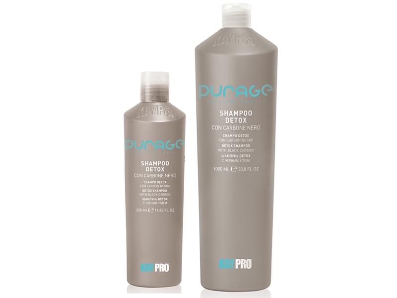 KAYPRO Purage Detox Shampoo - čistiaci šampón s čiernym uhlím