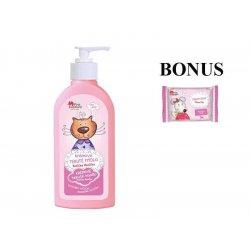 Pink Elephant Kočička Hanička - krémové tekuté mýdlo pro holčičky, 250 ml + dětské mýdlo, 90 g