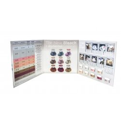 Vzorník ke KAYPRO Bleach and Color pastám pro odbarvení a zabarvení v jednom kroku