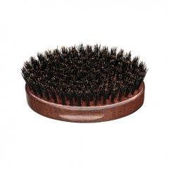 Barber Line 06078 Wooden Small Brush Poseidon - kefa na bradu, okrúhla