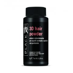 Black 3D Hair Powder With Panthenol - objemový púder, 8 g