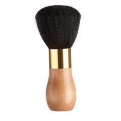 Eurostil 00336 Brush Barber Handle Wooden - oprašovák na vlasy