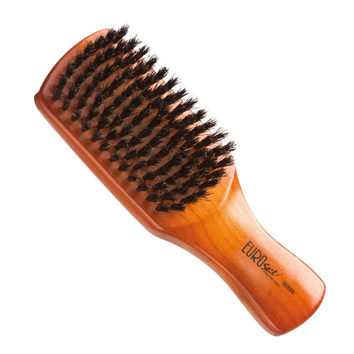 Eurostil 00599 Flat Brush Mix Bristles for Man - plochá kefa pre mužov