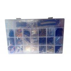 JzA WALIZKA/D - profesionálny set s kaderníckymi potrebami v plastovom organizéry, veľký