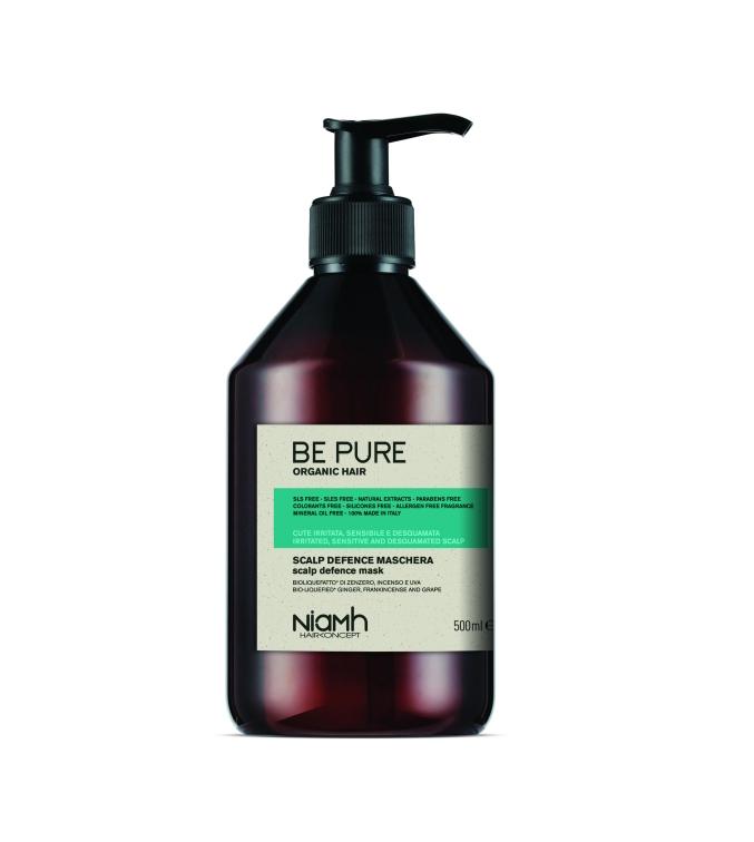 Niamh Hairkoncept Be Pure Scalp Defence Mask - maska pro citlivé vlasy, 500 ml