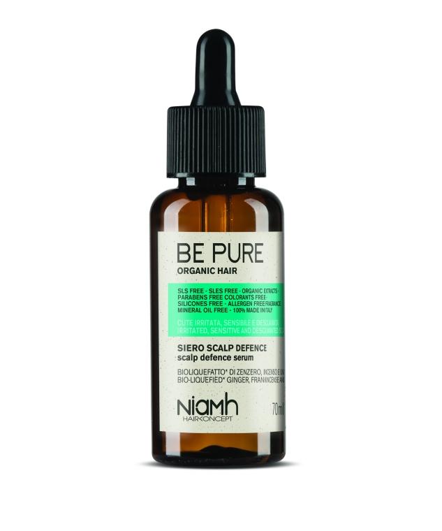 Niamh Hairkoncept Be Pure Scalp Defence Serum - sérum pro citlivou pokožku hlavy, 70 ml