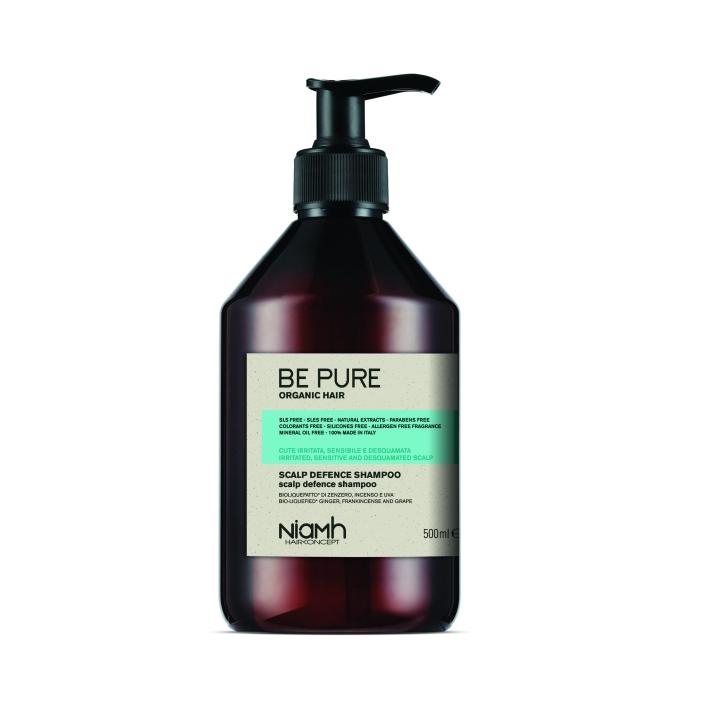 Niamh Hairkoncept Be Pure Scalp Defence Shampoo - šampon na citlivou pokožku hlavy, 500 ml