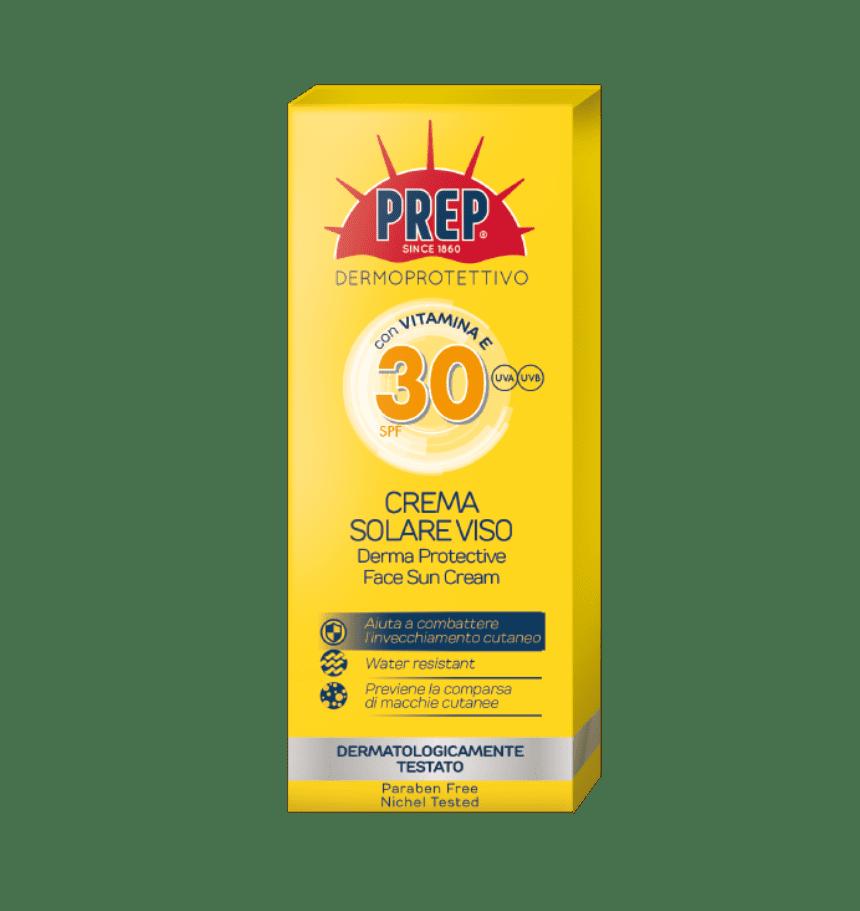PREP Derma Protective Sun Face Cream SPF 30 - ochranný opaľovací krém na tvár, 50 ml