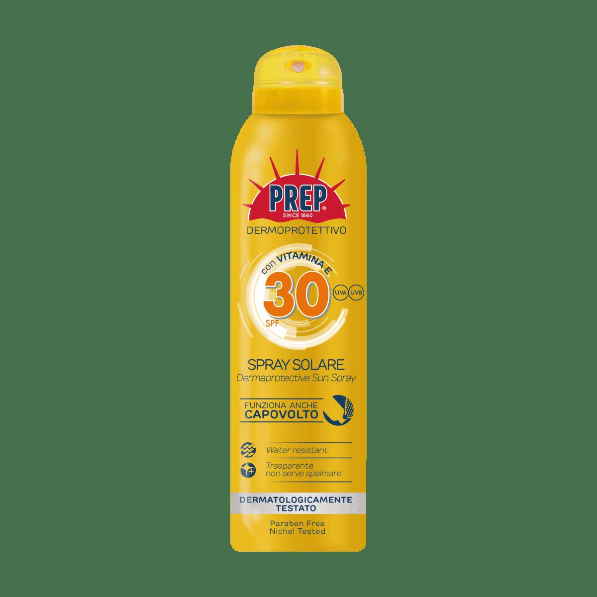 PREP Derma Protective Sun Spray SPF 30 - ochranný sprej na opaľovanie, 150 ml