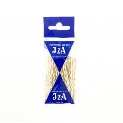 Vlásenky do vlasů profilované, barva krémová 6,5 cm, 20 ks