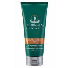 Clubman Head Shave gel 0005 - transparentný gél na holenie, 177 ml