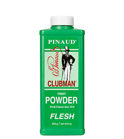Clubman Powder Flesh 7655 - púder telová farba,  255 g