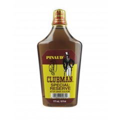 Clubman Special Reserve Cologne 0722 - kolínská voda po holení se silnou pánskou vůní, 177 ml