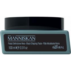 Människan Black Shaping Paste - čierna texturizačná pasta, 100 ml