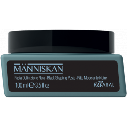 Människan Black Shaping Paste - černá texturizačná pasta, 100 ml