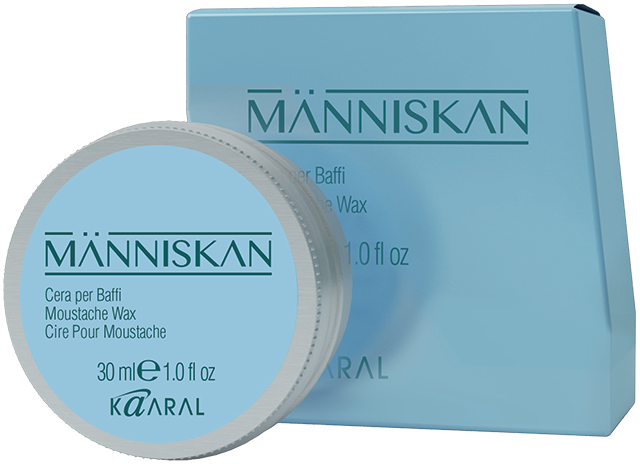 Människan Moustache Wax- vosk na vousy, 30 ml