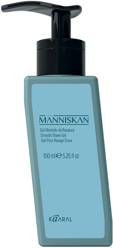 Människan Smooth Shave Gel - jemný gel na holení, 150 ml