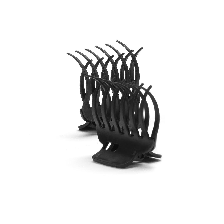 Bravehead Creative brush clip – kreatívna sada plastových štipcov do vlasov, 12ks