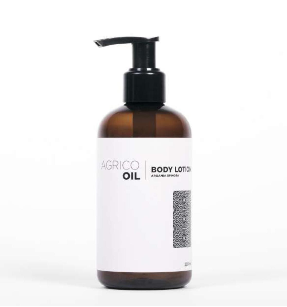 Agrico Oil Body Lotion - tělové mléko s arganovým olejem, 250 ml