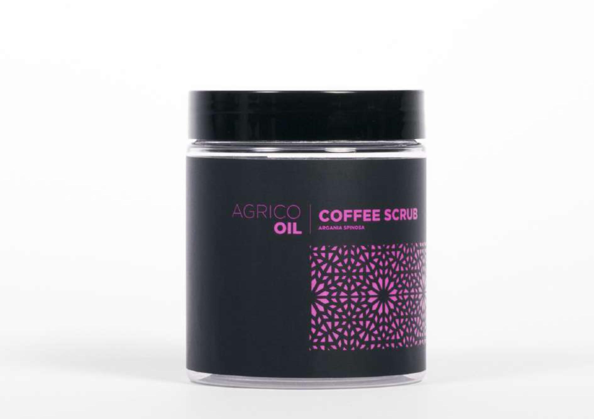 Agrico Oil Coffee Scrub - kávový peeling s arganovým olejom, 250 ml