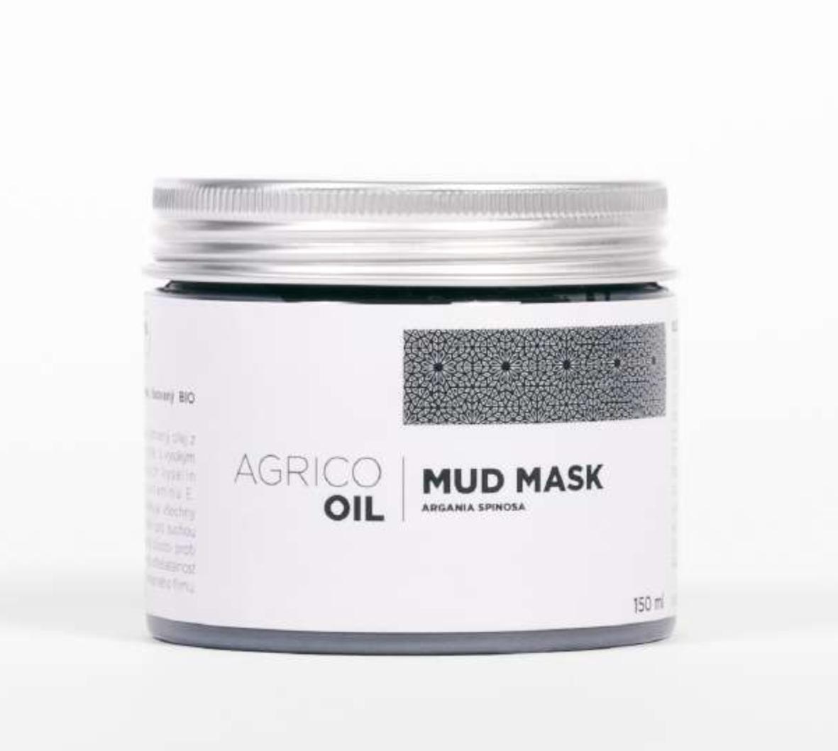 Agrico Oil Mud Mask - pleťová maska s bahnem z mrtvého moře a arganovým olejem, 150 ml
