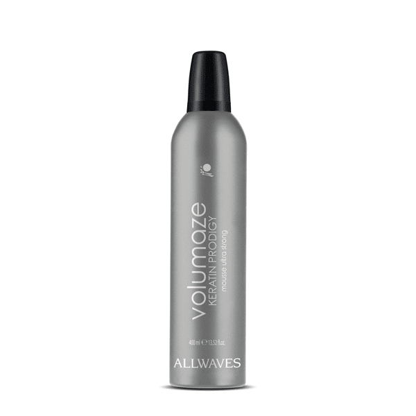 Allwaves Volumaze Mousse Ultra Strong - objemové pěnové tužidlo, 400 ml