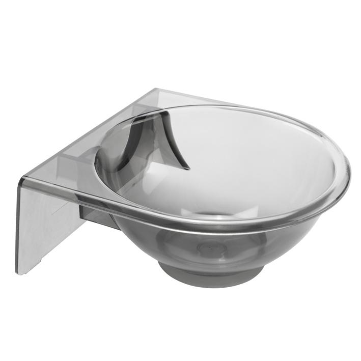 Eurostil Tint Bowl Large Transparent 01169 - průsvitná miska na zavěšení