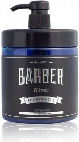 Marmara Barber Shaving Gel - gel na holení silver, 1000 ml