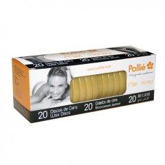 Polié Wax Discs Honey 04071 - medové depilačné voskové disky , 20 ks