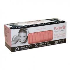 Polié Wax Discs Sensitive 04072 - depilačné voskové disky na citlivú pokožku, 20 ks