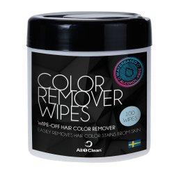 BraveHead Hair Color Remover Wipes 6525/030115 - čistiace obrúsky na odstránenie farby z pokožky, 100 ks