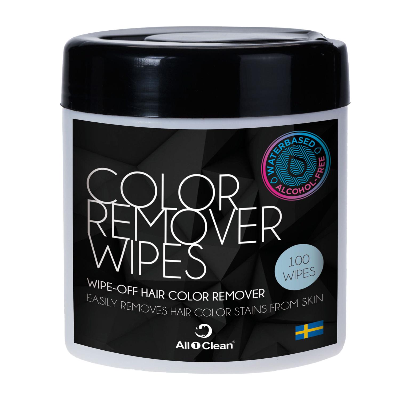 BraveHead Hair Color Remover Wipes 6525/030115 - čistící ubrousky na odstranění barvy z pokožky, 100 ks
