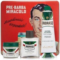 Proraso Komplet Vintage Selection Gino - profesionálny osviežujúci set na holenie