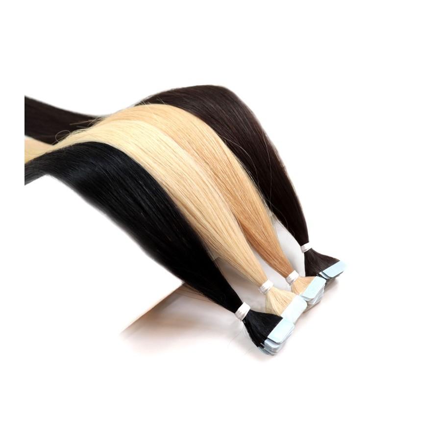 Beauty for You Slovanské vlasy - mikro pásky 2 cm, vlasy 35 cm, pre sendvičovú metódu