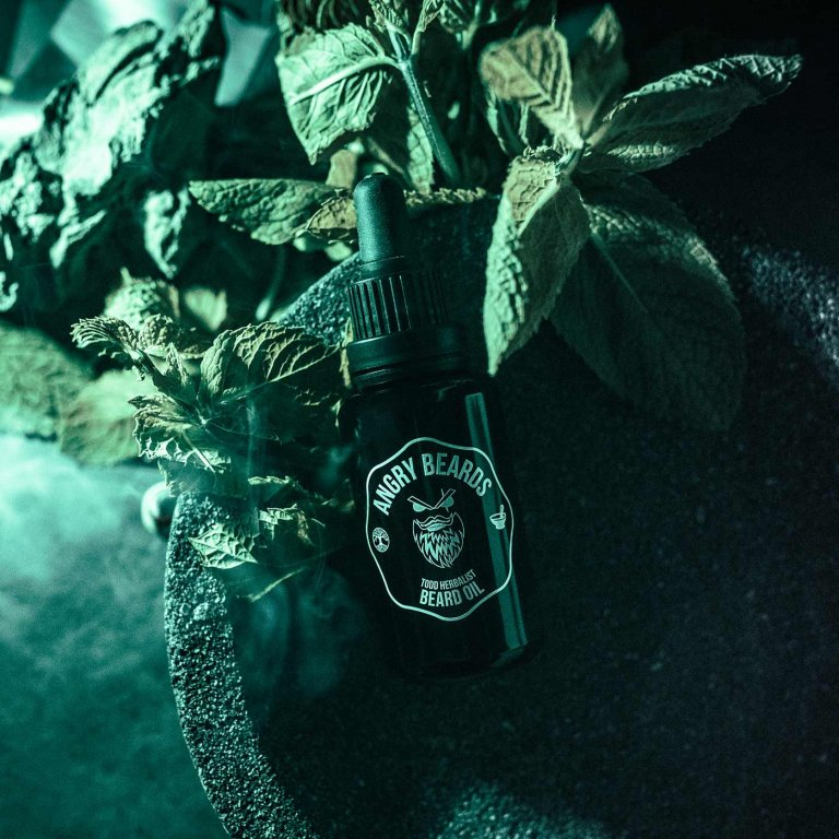 Angry Beards - Beard Oil Todd Herbalist - Olej na vousy