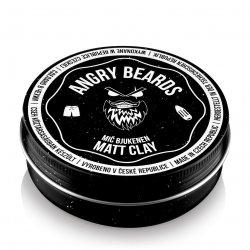 Angry Beards Mič Bjukenen - jíl na vlasy, 120 g