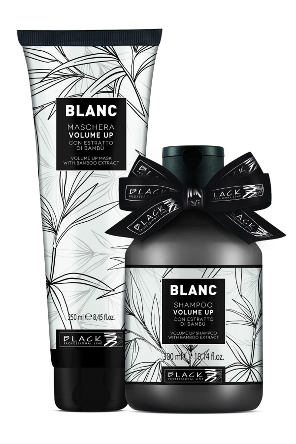 BALÍČEK: Black Volume Up - sada - šampon, 300 ml + maska, 250 ml