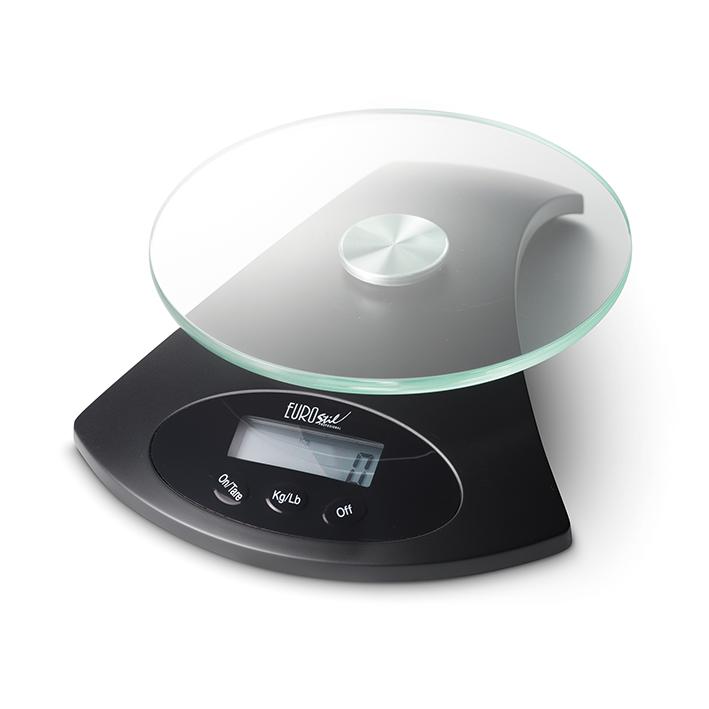 Eurostil Scale Digital Black 03337/50 - digitální váha, černá